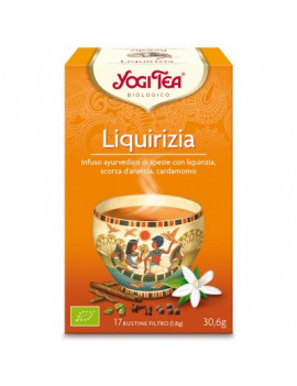 YOGI TEA LIQUIRIZIA BIO 30,6G